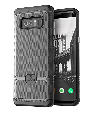 Amazon.com: JAAGD Galaxy Note 8 Funda, Slim Shock-absorción ...