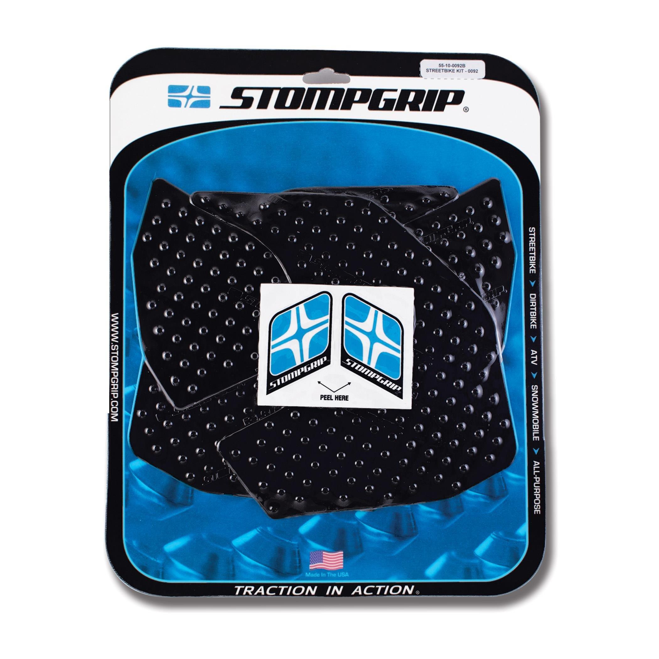 14-17 YAMAHA FZ-09: Stomp Grip Traction Pads (BLACK)