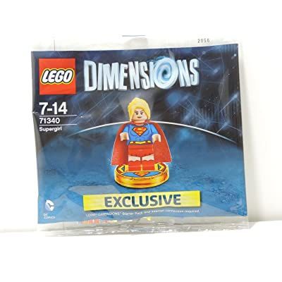 71340 Lego Dimensions Exclusive SuperGirl Limited Edition Rare Super Girl