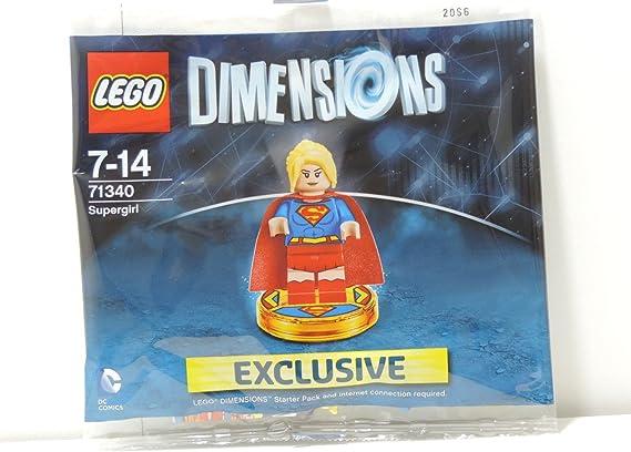 71340 Lego Dimensions Exclusive SuperGirl Limited Edition Rare Super Girl: Amazon.es: Videojuegos