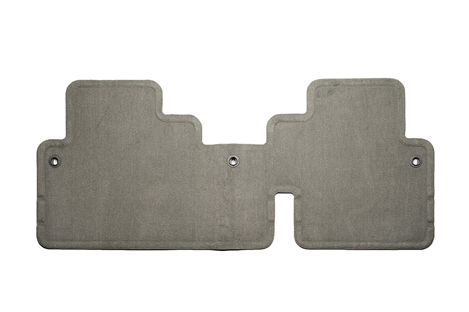 GM Accessories 25942938 Rear One-Piece Carpeted Floor Mat in Titanium General Motors