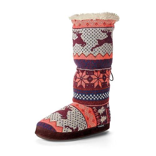 Leaping Deer Nordic Muk Luks Slipper Boots