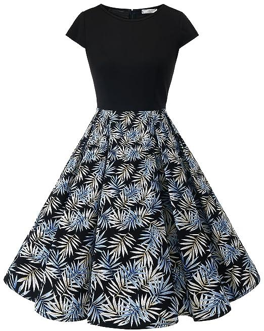 De ClásicoAños 50 Vestido Para MujerEstilo Homrain Cóctel OkiuPXZT