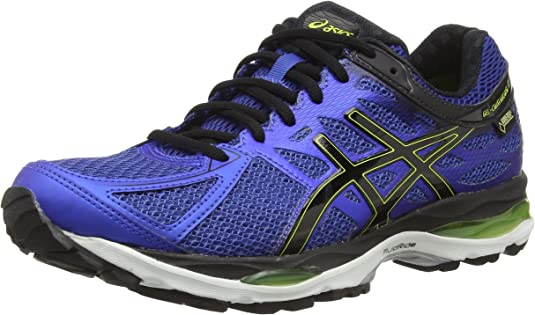 ASICS Gel-Cumulus 17 G-TX - Zapatillas de Running para Hombre, Color Azul (Mosaic Blue/Black/Lime Punch 5390), Talla 39: Amazon.es: Zapatos y complementos
