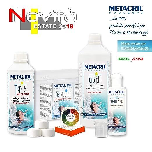 Metacril Easy Kit OXI para hidromasajes y Piscinas ...