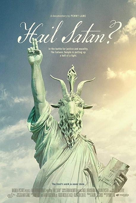 newhorizon Hail Satan Movie Poster 17'' x 25'' NOT A DVD: Amazon ...