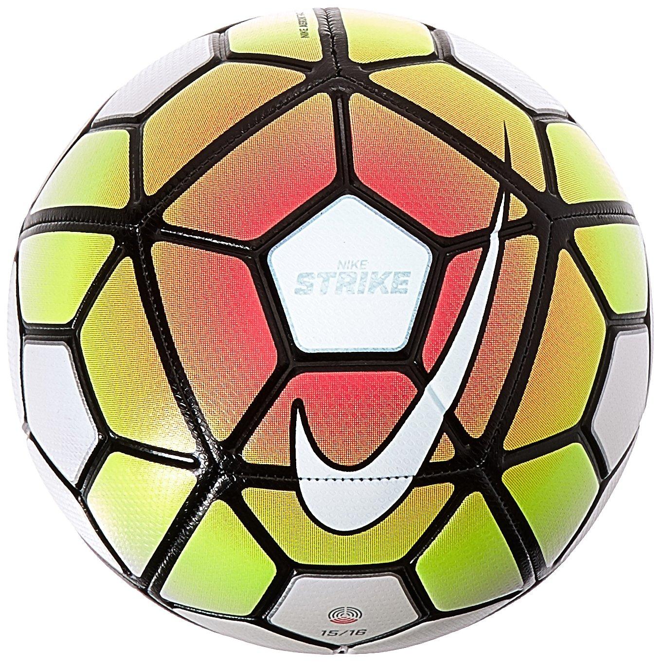 Nike Strike Balón, Unisex, Pink Blast/Volt/Blanco, 3: Amazon.es ...