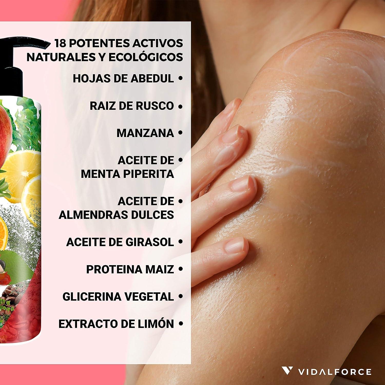 WILD, Crema reafirmante corporal Natural 100% y Ecologica 66%   Crema hidratante corporal tonificante   Anticelulitico reductor potente Natural   100% ...