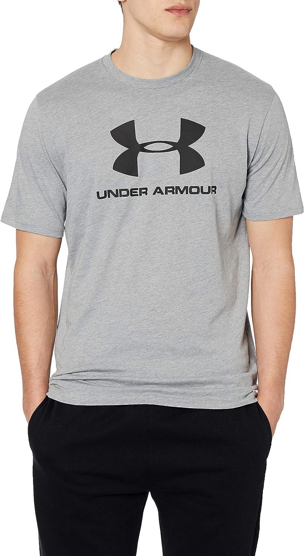 Camiseta de Manga Corta Hombre Under Armour Sportstyle Mens Short Sleeve Logo