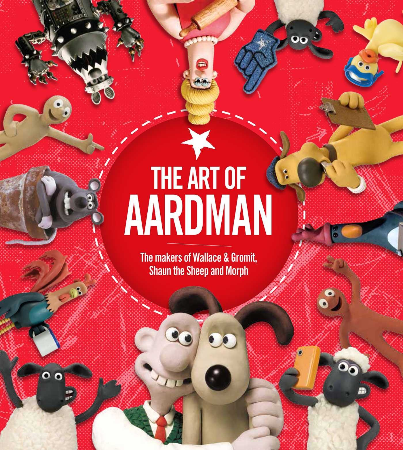 Image result for the art of aardman book