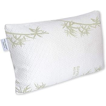 Hotel Comfort Bamboo Covered Memory Foam Pillow Queen 40 Custom Hotel Comfort Bamboo Covered Memory Foam Pillow
