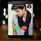 Enrique Iglesias Full Screen Photo Call Receiver