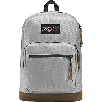 bbe0515a50fc JanSport Right Pack Digital Edition Laptop Backpack - Silver Metallic Weave