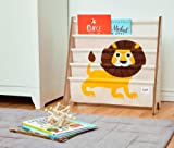 3 Sprouts Book Rack - Kids Storage Shelf