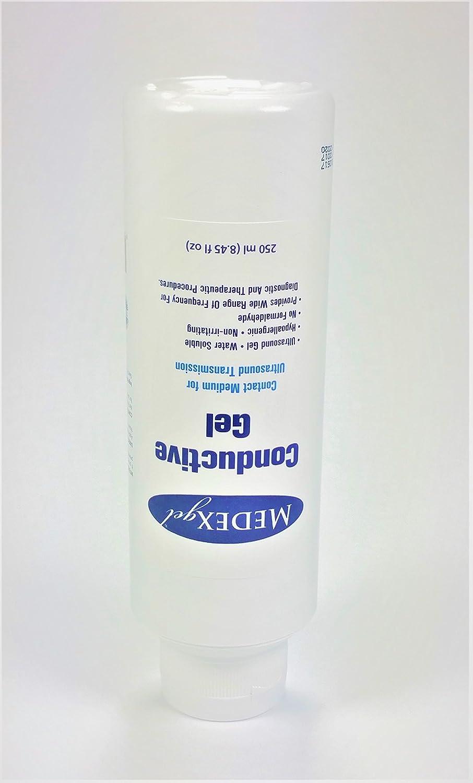 Medexgel Blue Transmission and Scanning Gel 8 45 fl oz