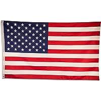 SCAMODA federale en staatsvlaggen gemaakt van weerbestendig materiaal met metalen ogen, vlag (150x90cm) USA