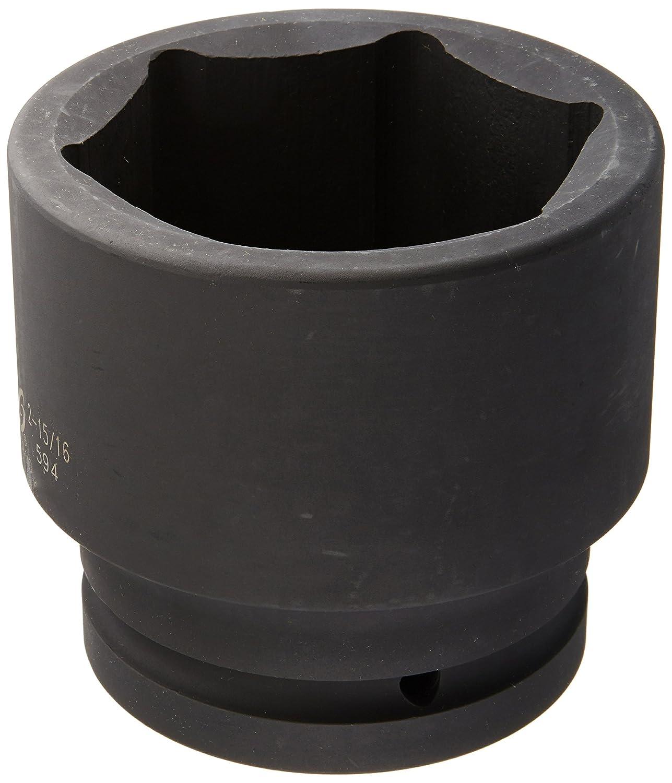 Sunex 0594 1-Inch Drive 2-15//16-Inch Impact Socket Sunex International