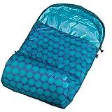 Wildkin Aqua Big Dot Stay Warm Sleeping Bag