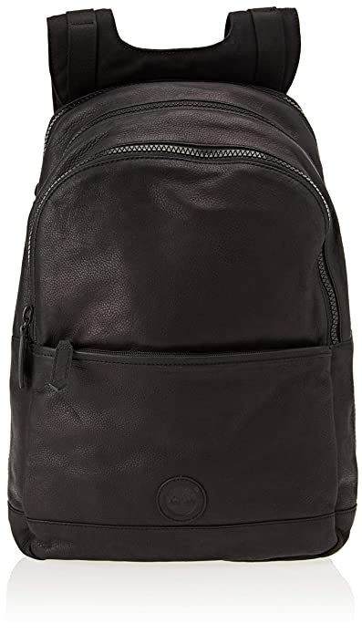 b6ad5eac7c Timberland Zaino In Pelle, Men's Backpack, Black (Jet Black): Amazon ...