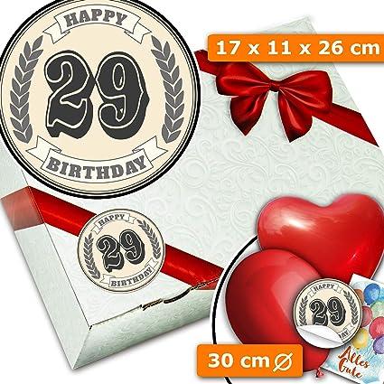 29 cumpleaños regalo - Caja de cartón - Regalos 29 ...