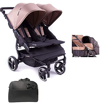 11ebcd76a Baby Monsters Silla Gemelar Easy twin 3.0.S + 1 Capazos + Regalo Bolso -