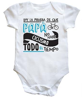 HippoWarehouse Soy La Prueba de Que Papá No Hace Ciclismo Todo El Tiempo body  bodys pijama niños niñas unisex  Amazon.es  Ropa y accesorios 1c14d723143