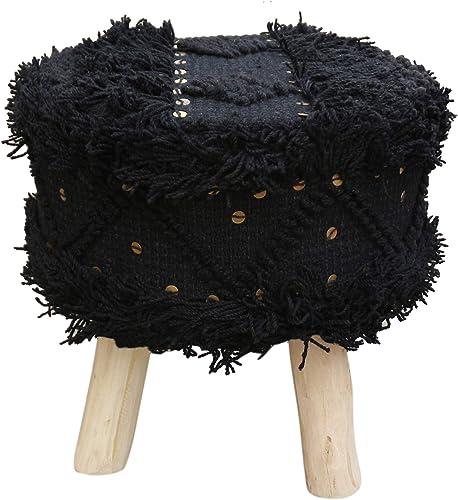 Christopher Knight Home Mosiac Wool Boho Stool