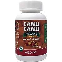 Camu Camu orgánico en capsulas veganas 90-500mg Vizana Nutrition