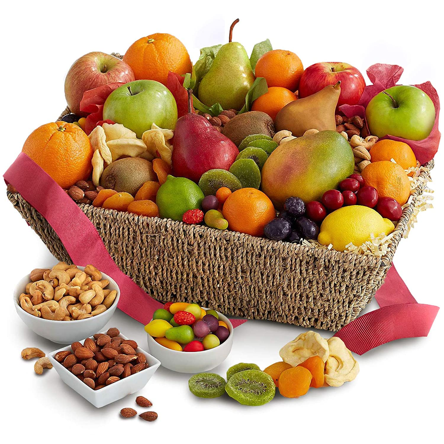 Golden State Fruit Fresh From The Harvest Fruit, Nut & Chocolate Basket