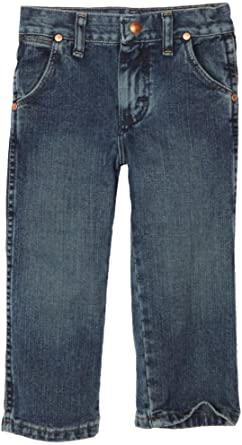 36a9b83c Wrangler Little Boys' Toddler Original Prorodeo Jeans, Subtle Worn, 2T  Regular