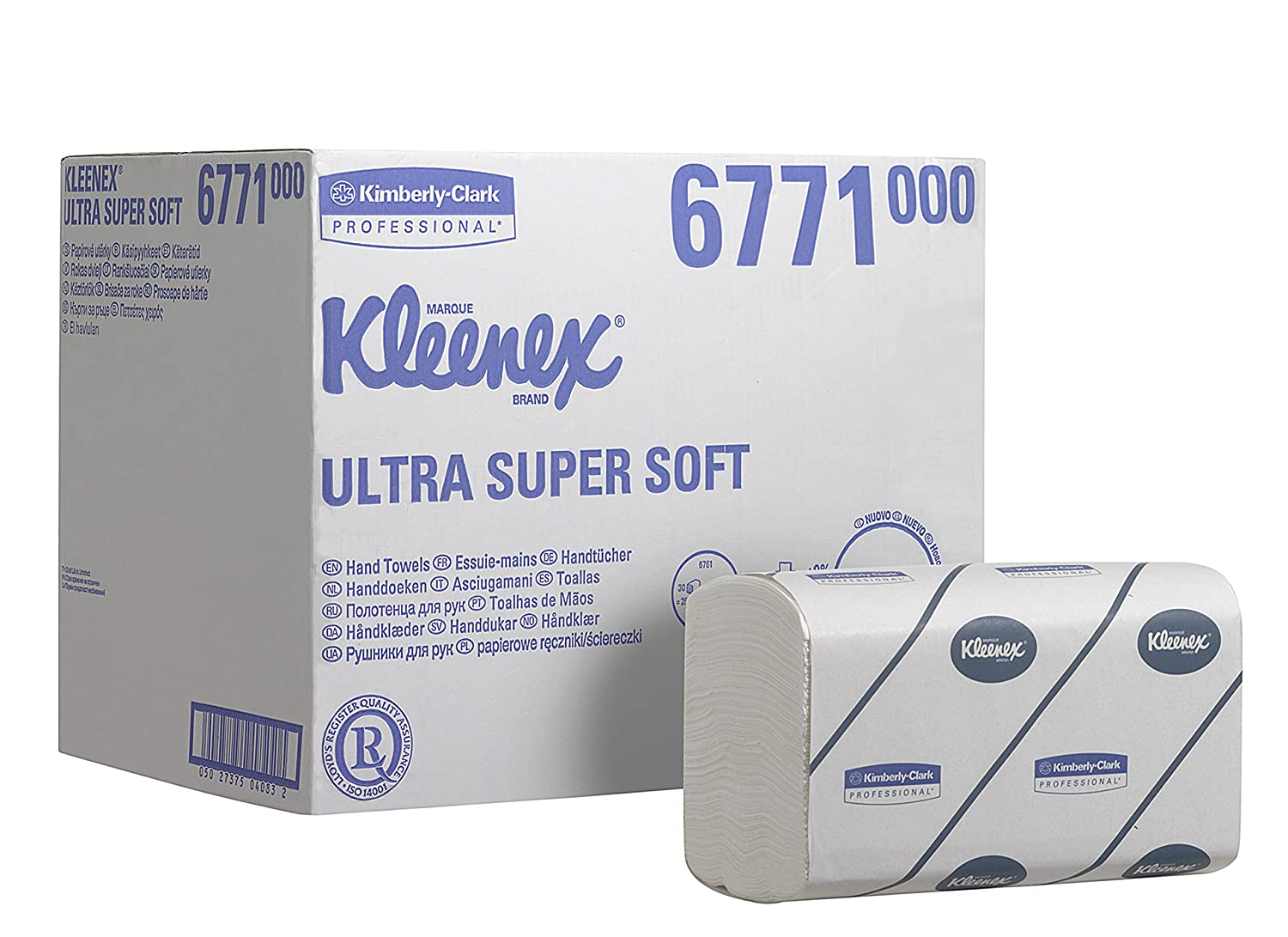 Stilig Kleenex 6771 Ultra Super Soft Interfolded Hand Towels,Medium TB-71