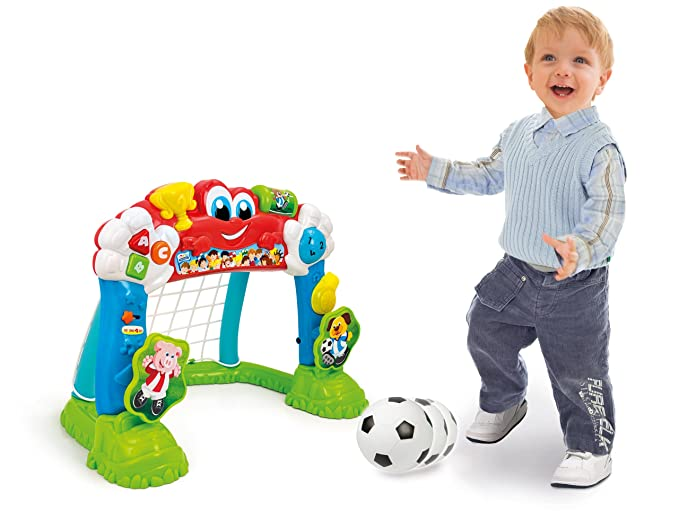 Baby Products Clementoni 69288.0 Interactive Football Goal 2 in 1 Multifunction