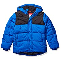 Boys' Heavy-Weight Hooded Puffer Jacket Coat