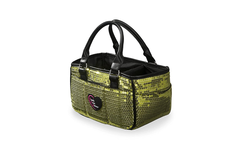 21abece5396b best Green Sequin Ice Skating Bag Tennis Gym and Ballet Girls Athletic Bag