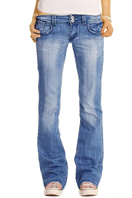 25 opinioni per Bestyledberlin Jeans Donna, Bootcutjeans