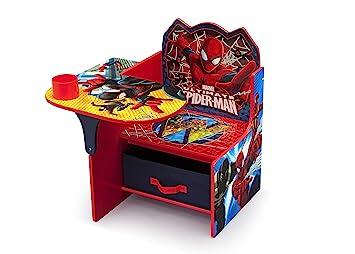 Wondrous Delta Children Chair Desk With Storage Bin Spider Man Theyellowbook Wood Chair Design Ideas Theyellowbookinfo