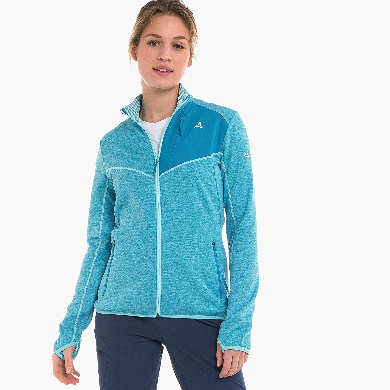 Schöffel Damen Fleece Jacket angel blue