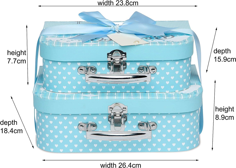 Baby Box Shop Cesta regalo bebe Regalos originales para baby shower con esenciales para bebes recien nacidos que incluye oso de peluche y caja recuerdos color lim/ón