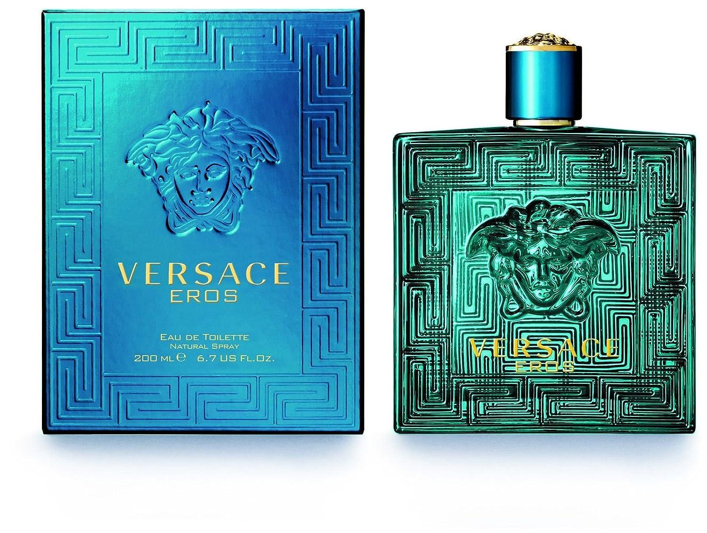 Amazon Versace Eros By Versace 017 Oz 5 Ml Edt Splash Men