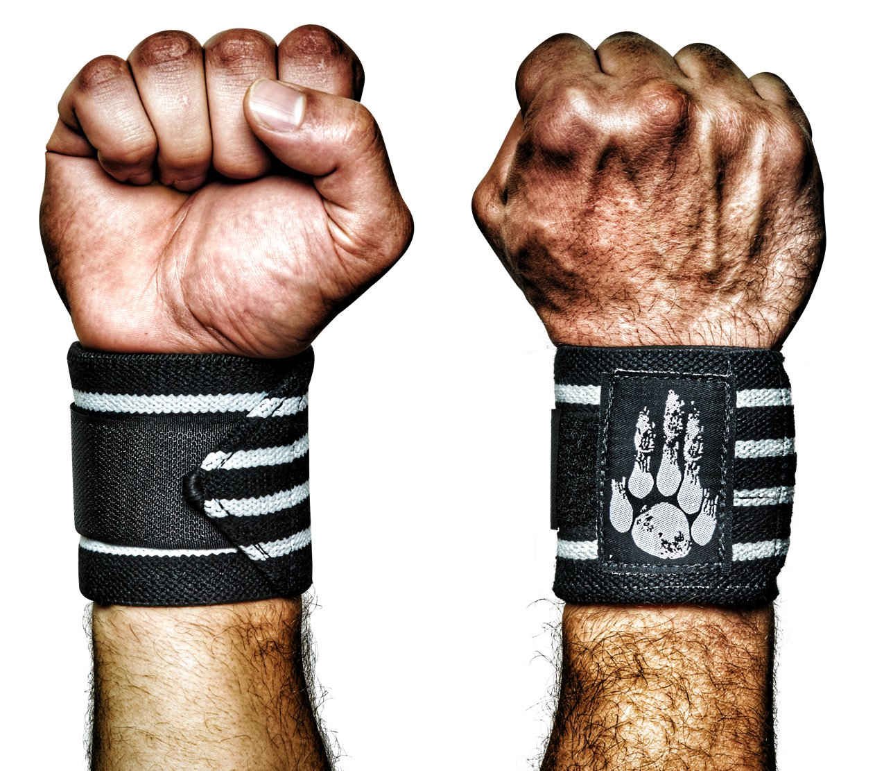 MANIMAL: The Best Weightlifting Straps with Superior Wrist Support, 1 Wrist Wraps Trusted by Professional Powerlifting, Strongman, Crossfit and Olympic Athletes - Venom