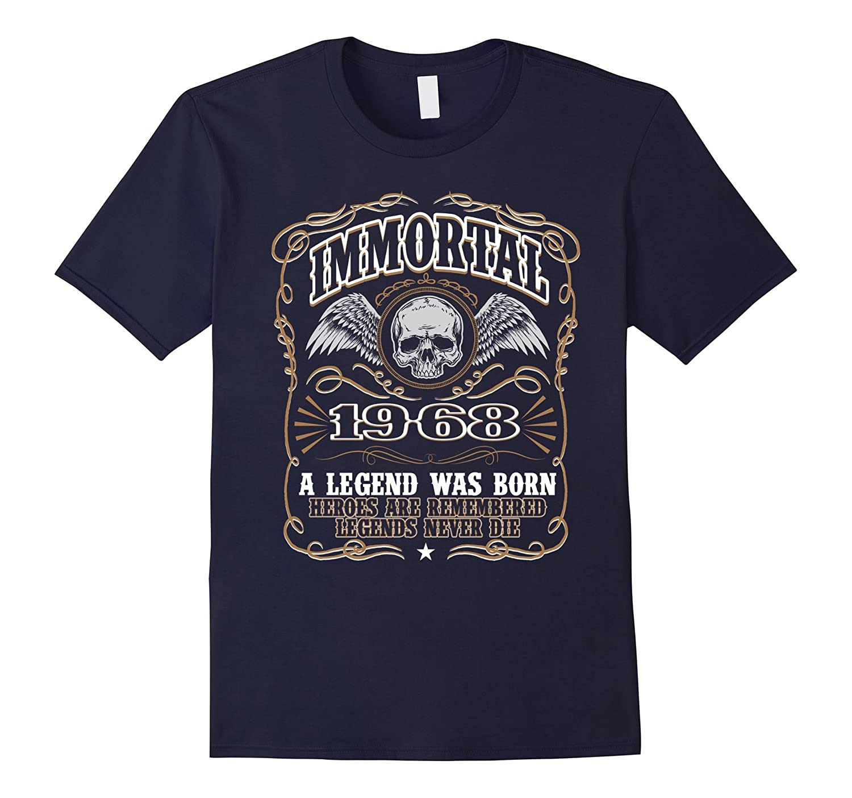 Immortal 1968 T-Shirt 48th Birthday Gift For Men-CD