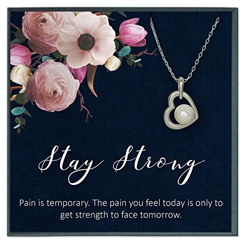 Amazon.com: Grace of Pearl Stay Strong Poem Get Well Soon ...