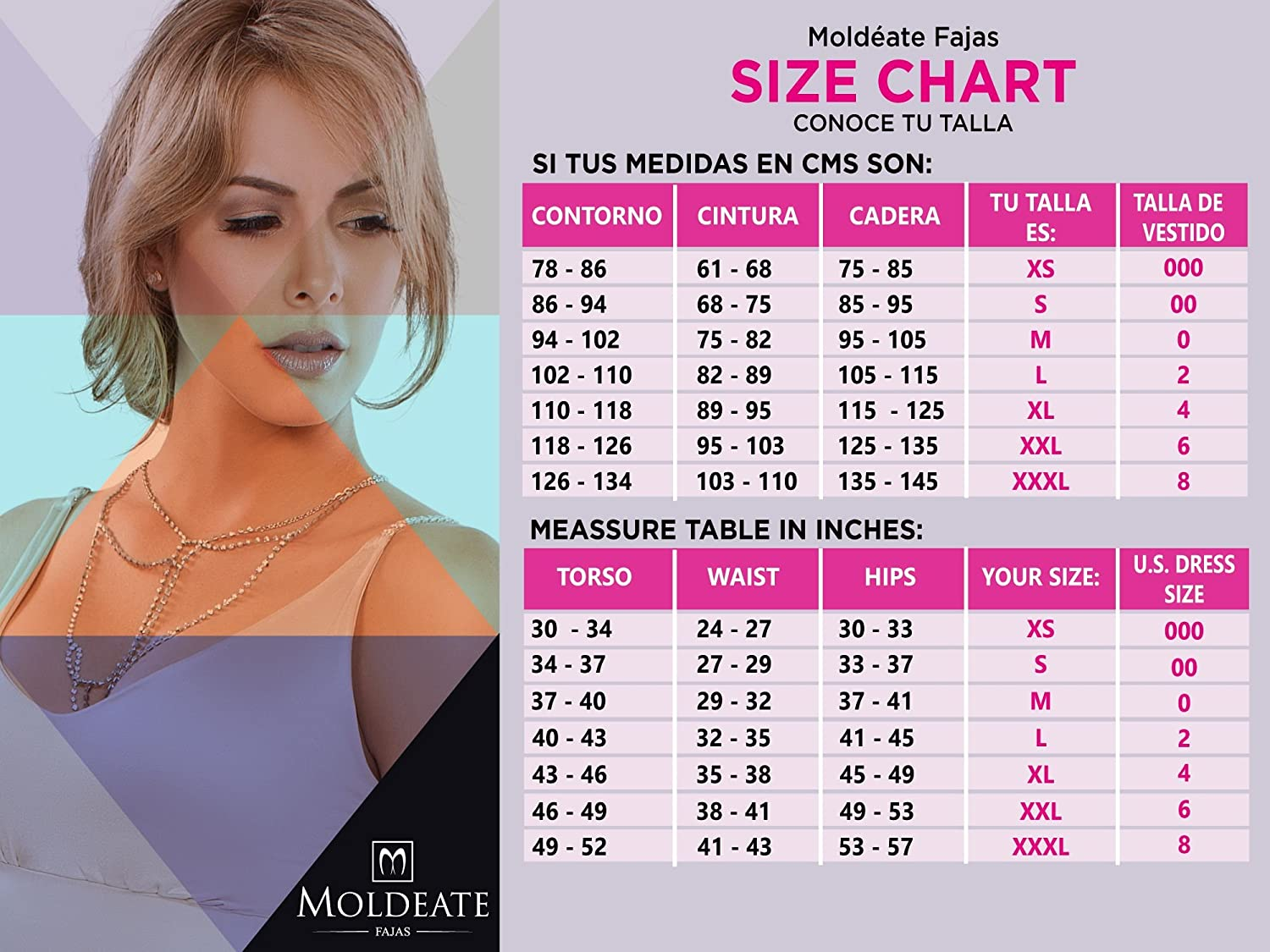 291d0e921 MOLDEATE 1002 Post-Surgical Knee-Length Body Shaper at Amazon Women s  Clothing store