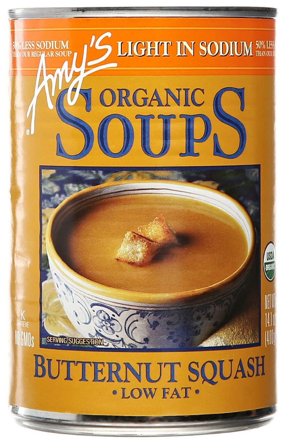 Amy's Organic Butternut Squash Soup, 14.1-Ounces (Pack of 6)