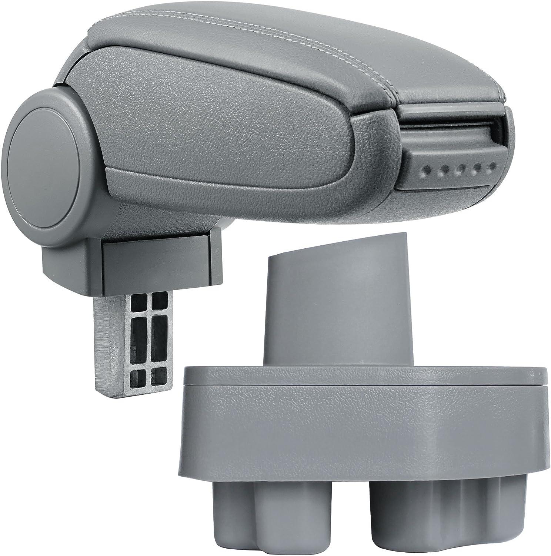 Armrest Perfekt Fit inkl Centre Console Storage Box pro.tec textil cover // grey
