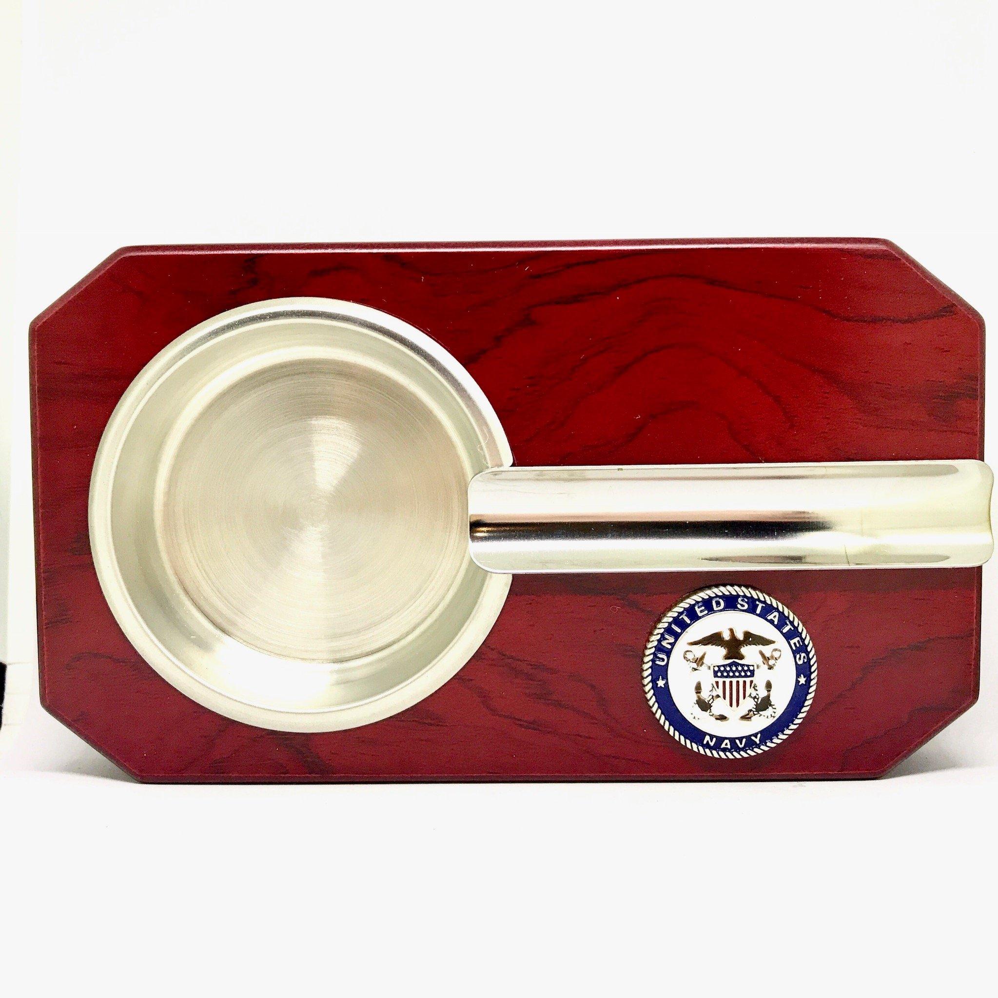 US Navy Cigar Ashtray - Military Cigar Accessories