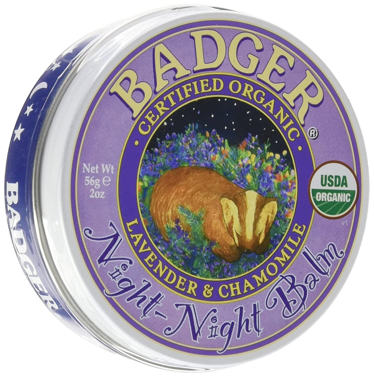 Badger Balms Night-Night Balm 56 Grams 720310