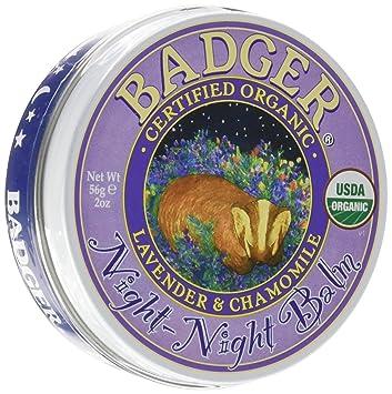 Badger Balm Night Night Balm - 2 oz Cle De Peau - Refreshing Protective Emulsion SPF 20 - 125ml/4.2oz