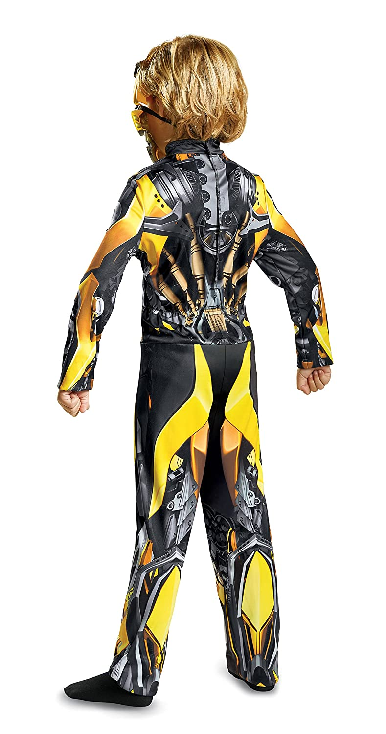 Yellow Disguise Costumes Toys Division 22387G Large Disguise Bumblebee Movie Classic Costume 10-12