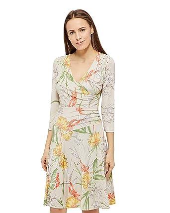 Ilse Jacobsen Nice Kleid, Damen, Medium, Altweiß: Amazon.de: Bekleidung